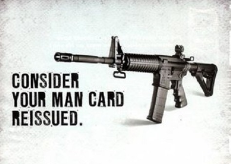 consider your man card