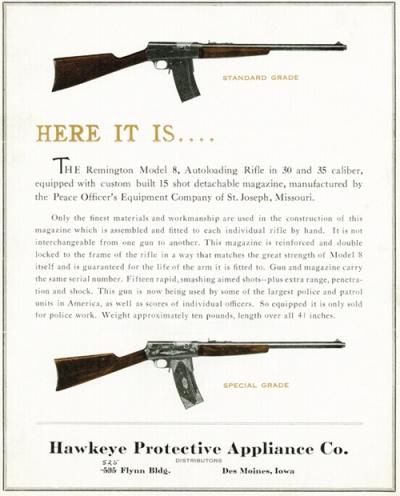 REmington model 8 police special