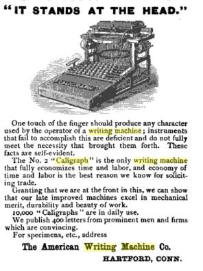 1886  Advertisement