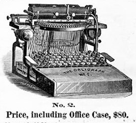 caligraph 2 1881