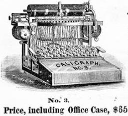 caligraph 3 1881